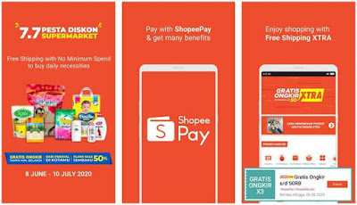 Aplikasi Uang Elektronik - ShopeePay