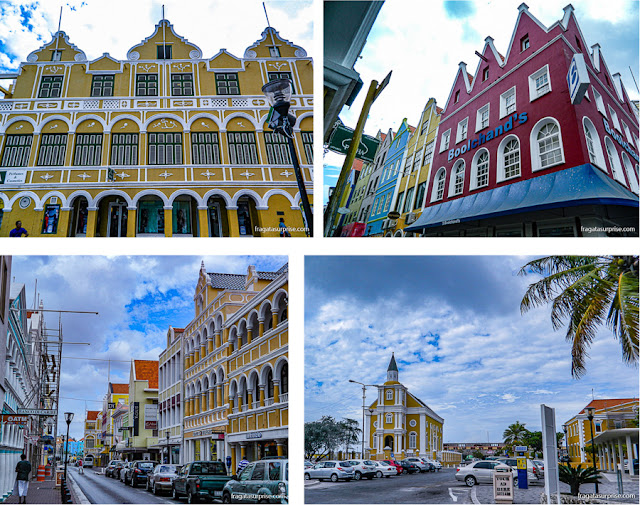 Bairro de Punda, em Willemstad, Curaçao