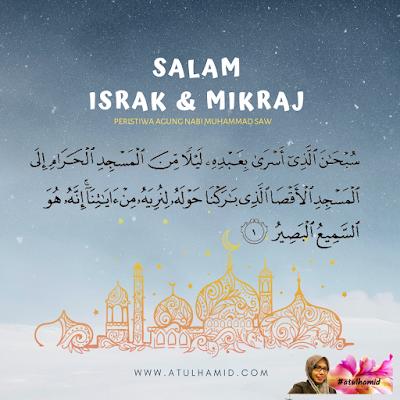 SALAM ISRAK & MIKRAJ 1440H