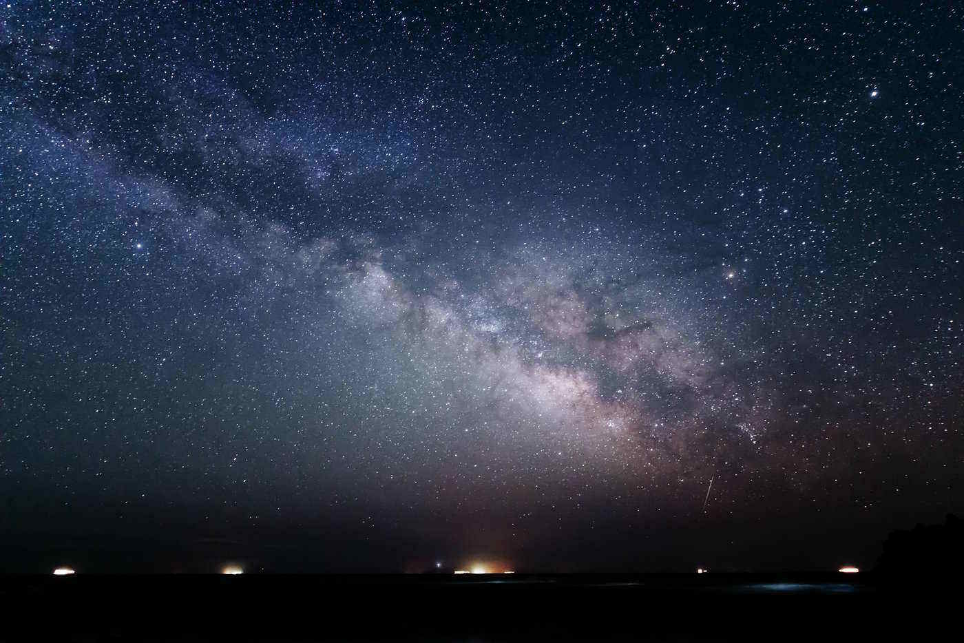 stars over izu peninsula - how to travel aogashima island, japan
