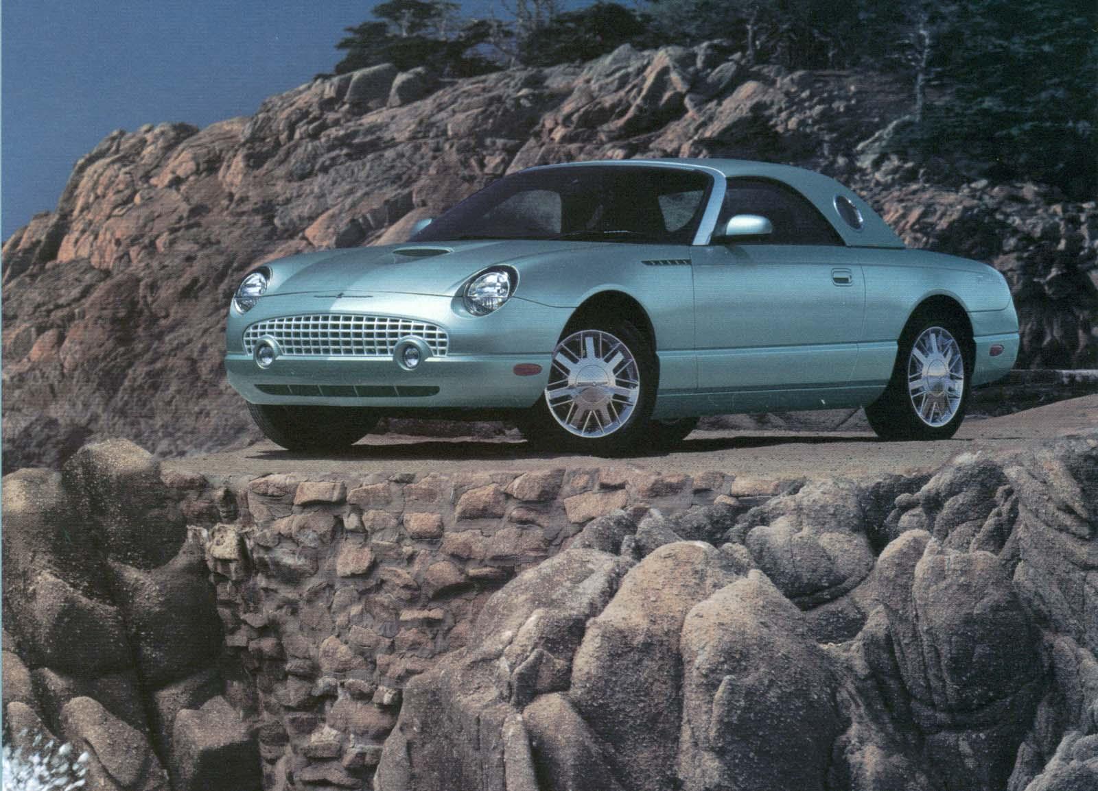 2002 2005 ford thunderbird [ 1600 x 1154 Pixel ]