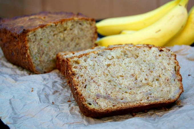 Banana Bread with Garbanzo/Chickpea Flour