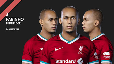 PES 2020 Faces Fabinho by DizzeeSpellz