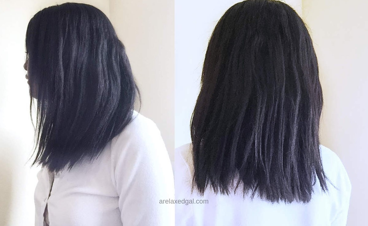 Results from the L'Oreal Extraordinary Oil Shampoo System   A Relaxed Gal