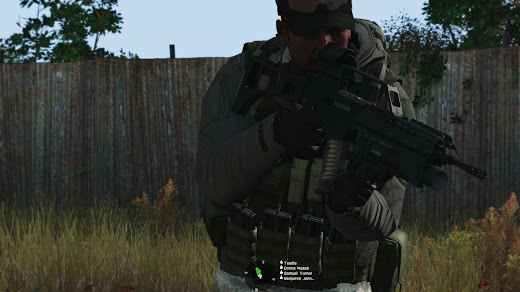 Arma3用のG36小銃MOD