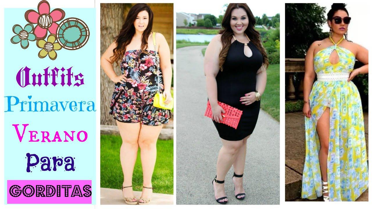Vestidos de verano gordas