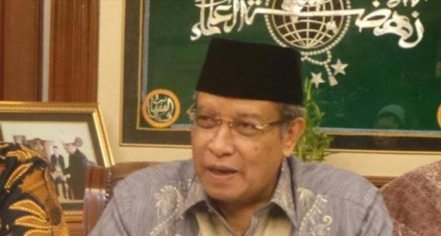 Kiai Said Aqil Sebut Ada yang Ingin Hancurkan NU Sebelum 2024