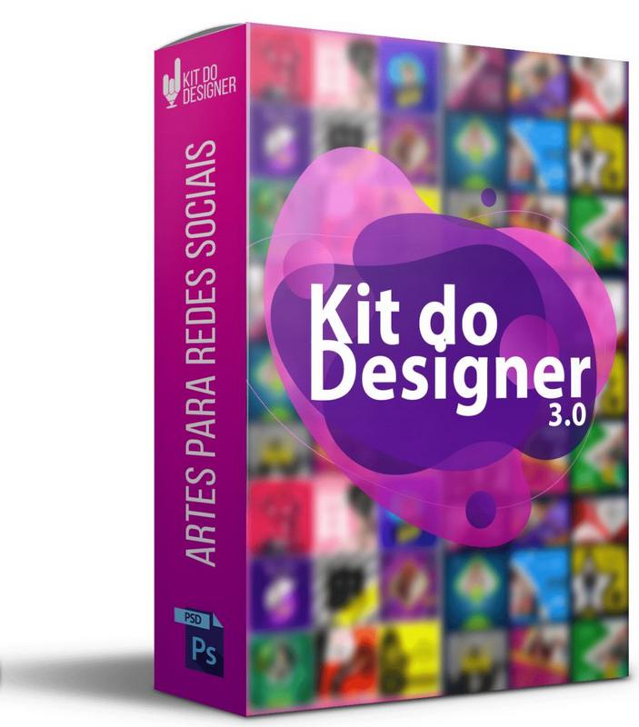 Kit do Designer 3.0 + 100GB Download Grátis