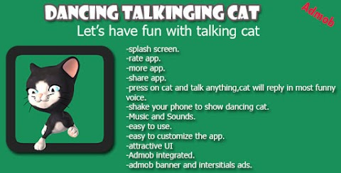 Talking Dancing Cat Android App