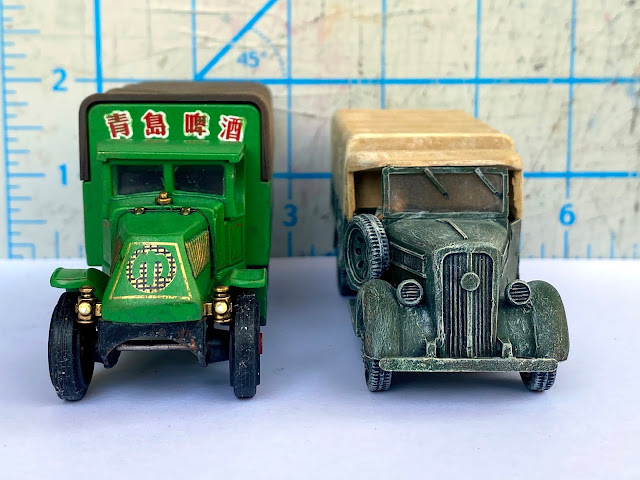 Matchbox Mack Compared to Warlord Games Truck