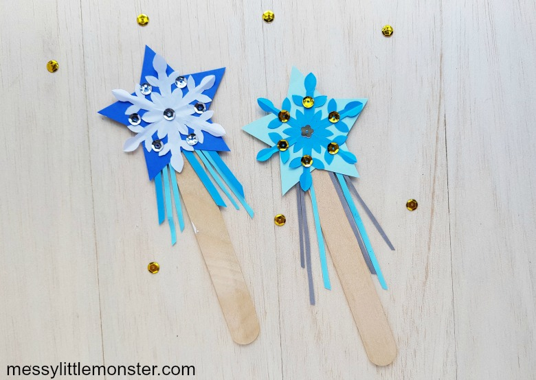 frozen paper craft - wand