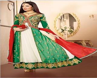 model baju sari india pesta