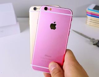 các bước thay vỏ iPhone 6 màu hồng
