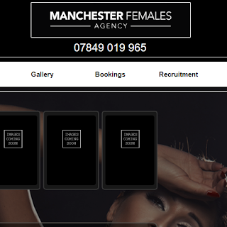 Manchester Females website screenshot