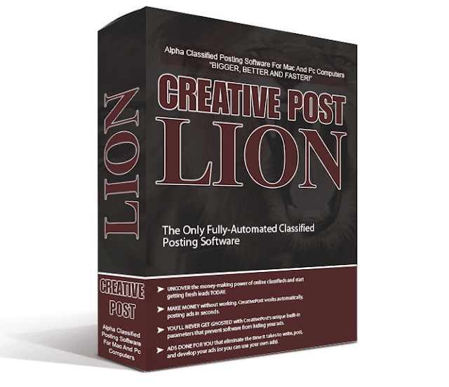 [GIVEAWAY] Creative Post Lion [Powerful Classified Ad Posting Software]