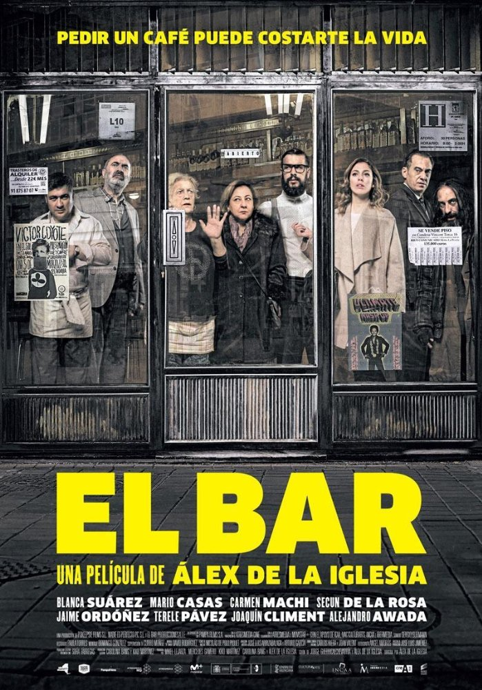 Watch Movies The Bar (2017) Online
