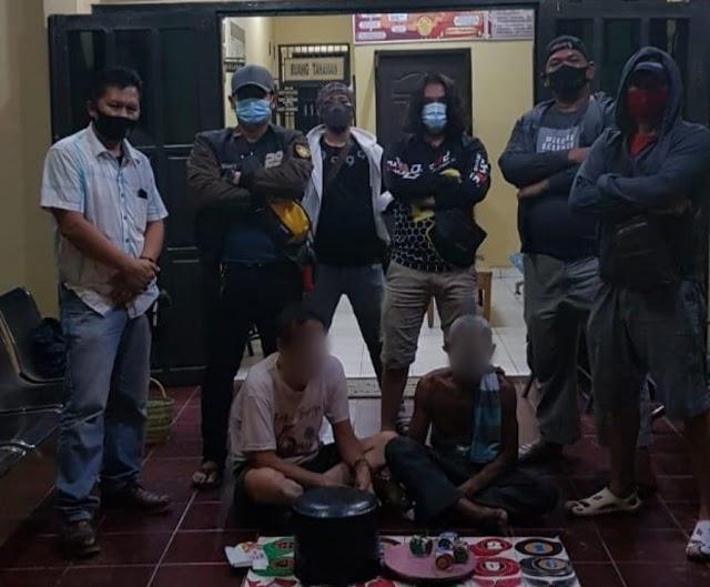 Gerebek Arena Judi Dadu Kuncang, Polisi Amankan 2 Kakek Kakek