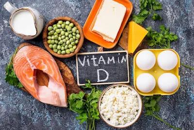 اكلات تحتوي علي فيتامين د