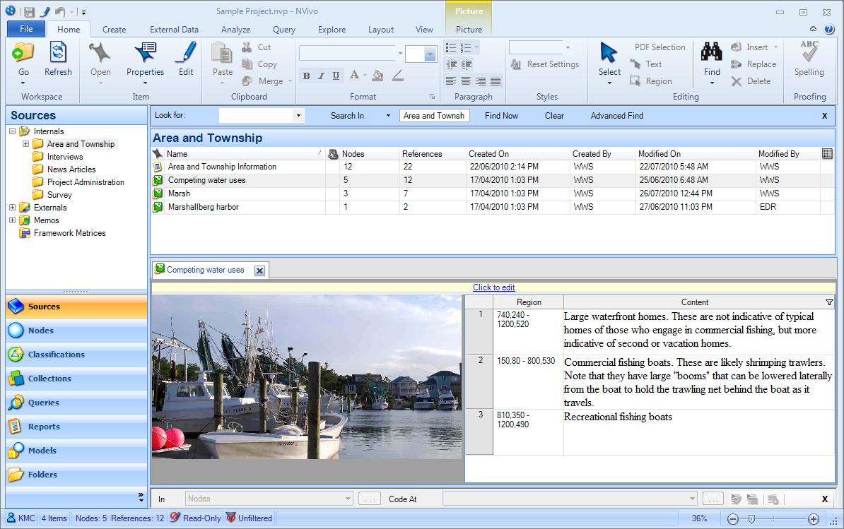 Árvore de categorias elaborada pelo software nvivo8.   download.