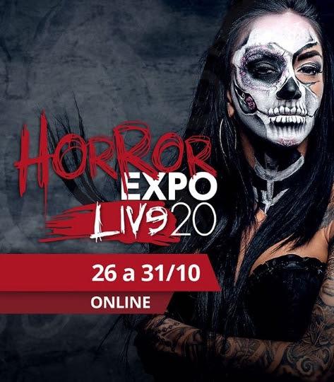 Horror Expo 2020 será no formato virtual