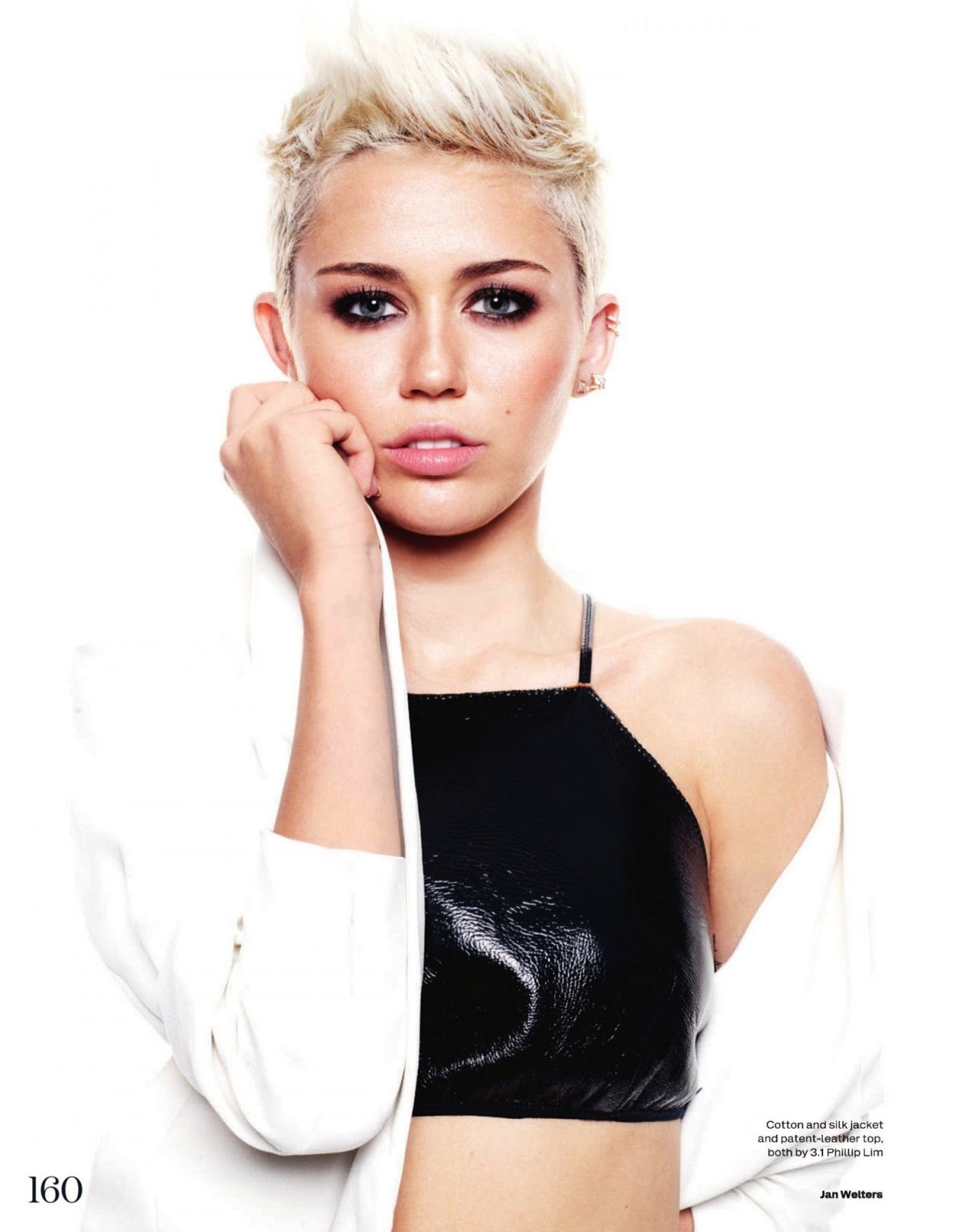 Rapunzel With A Mohawk: Miley Cyrus By Jan Welters For Uk