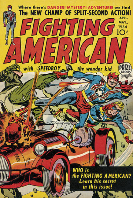 Jack Kirby Fighting American