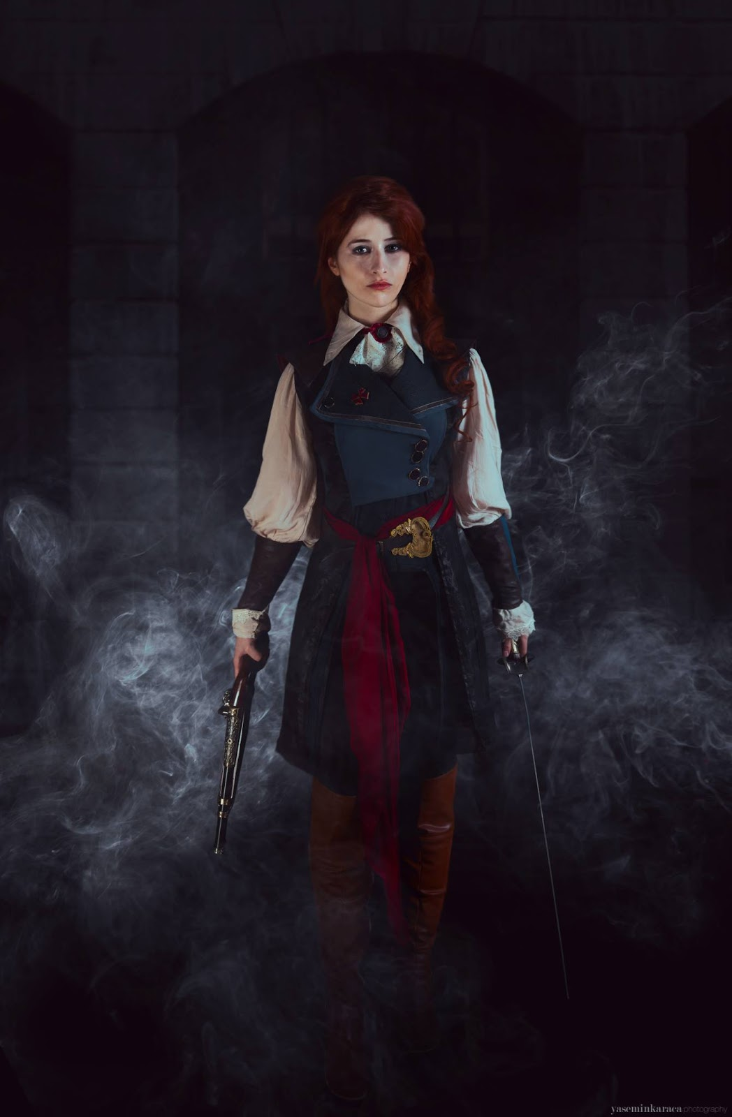Elarte Cosplay Assassin S Creed Unity Elise De La Serre Cosplay
