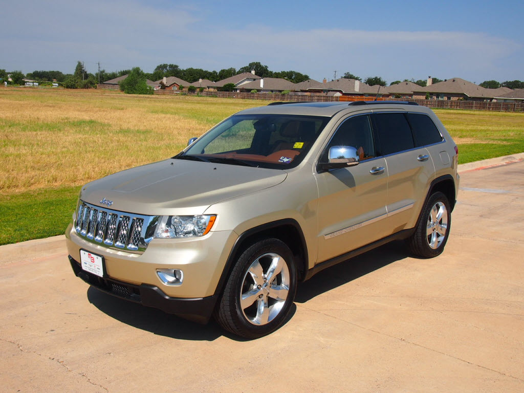 2011 jeep grand cherokee overland summit edition real wood suv 34288 granbury texas 76049. Black Bedroom Furniture Sets. Home Design Ideas