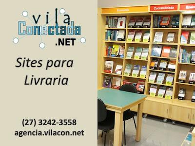 Site para Livraria