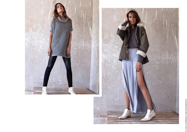 Pura Pampa invierno 2016 moda mujer.