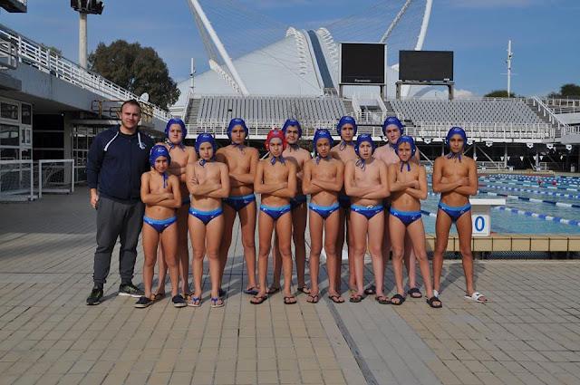 Η ομάδα Μίνι Παίδων του Ν.Ο. Ναυπλίου στο Πανελλήνιο Πρωτάθλημα Υδατοσφαίρισης