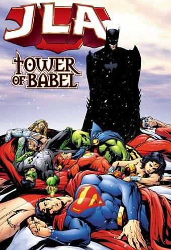 En JLA Torre de Babel, Batman tiene mucha relevancia