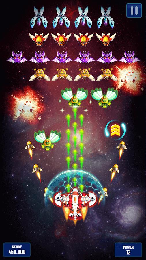 Space Shooter Galaxy Attack APK MOD Dinheiro Infinito 2021 v 1.509
