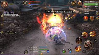 Crusaders of light MMORPG batallas