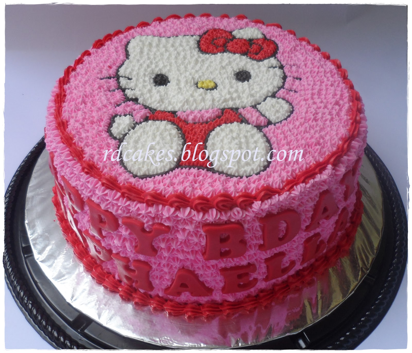 Rdcakes Hello Kitty Buttercream Cake