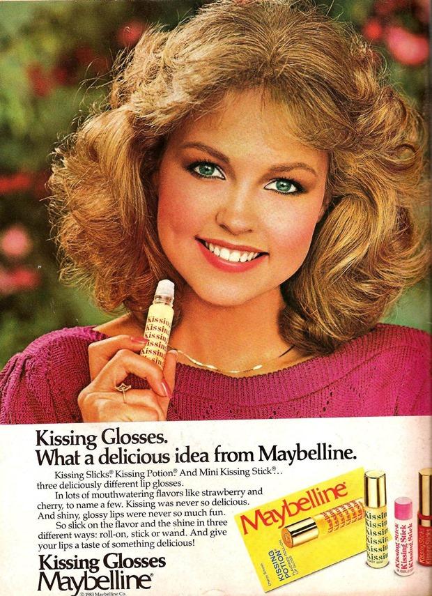Anúncios vintage de maquiagem, anúncios vintage, publicidade vintage, vintage, vintage makeup ad, vintage ad, história da maquiagem, maquiagem no decorrer das décadas, anúncios de maquiagem dos anos 80