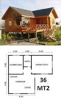 Planos para pequeñas cabañas de madera