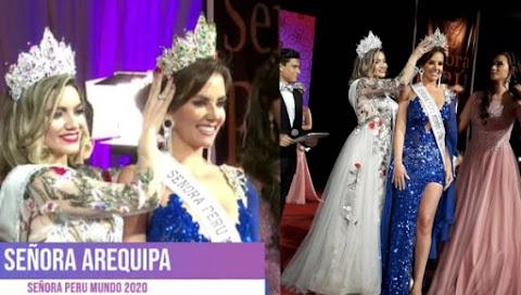 Lesley Sue Garcia es Señora Perú Mundo 2020