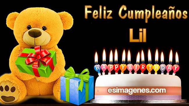 Feliz cumpleaños Lil