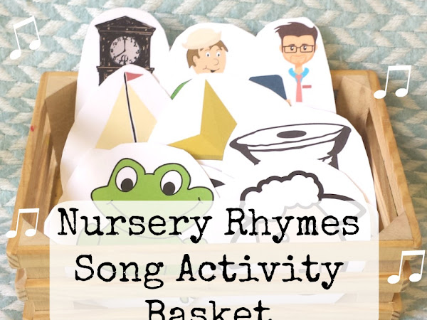 Nursery Rhymes Song Activity Basket