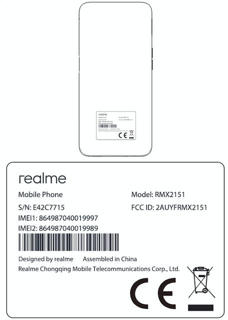 Realme-RMX2151-design