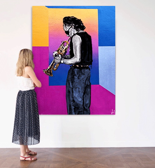 Music-Inspired Paintings by Lionel Thomas