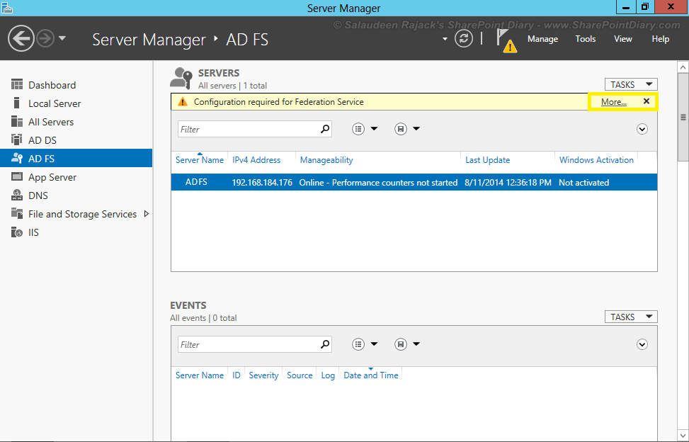 adfs single sign on sharepoint 2013
