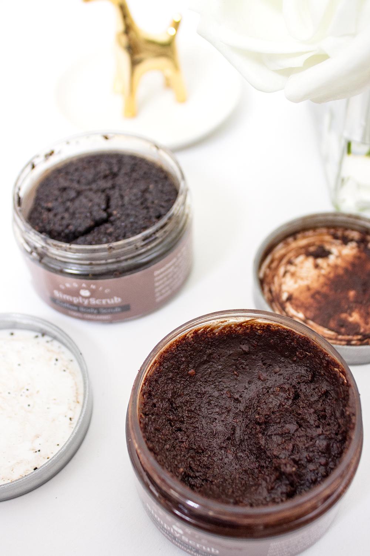 SimplyScrub Chocolate and Coffee Body Scrubs