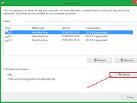 Cara Mengaktifkan Defrag Otomatis Pada Windows 8/8.1