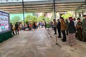 Tinjau Vaksinasi Serentak se-Indonesai di Pesantren dan Rumah Ibadah oleh Presiden RI, Polres Serang Gelar Vicon di Ponpes Ikhlas Salman Al Farisiy Jawilan