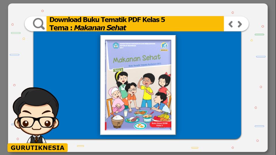 download gratis buku tematik pdf kelas 5 tema makanan sehat