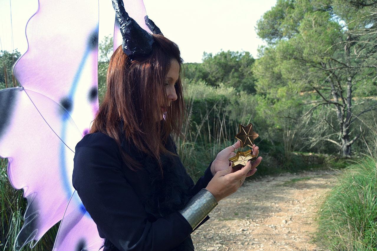 sesion fotografica, cuento, hadas, reina de las hadas, malefica, hada alada, magia, poderes