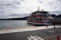 Ferry que nos llevaría hasta Miyajima