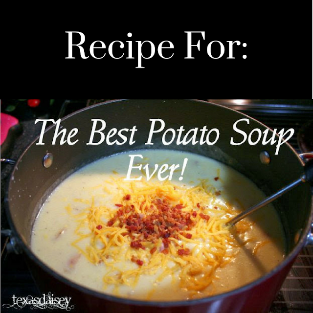 The Best Potato Soup Ever Recipe
